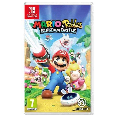 Mario + Rabbids Kingdom Battle (Usado) - Switch