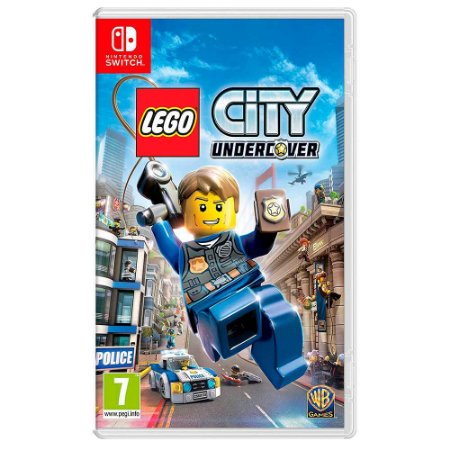 Lego City Undercover (Usado) - Switch