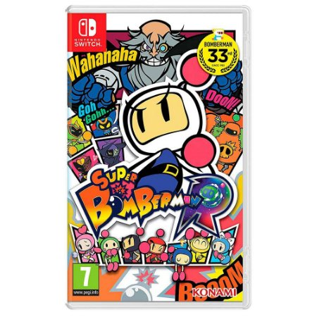 Super Bomberman R (Usado) - Switch
