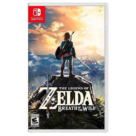 The Legend of Zelda: Breath of the Wild (Usado) - Switch