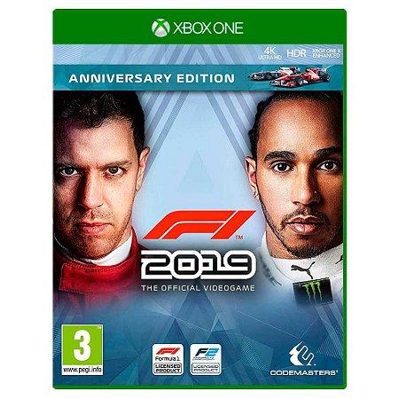 F1 2019 Anniversary Edition (Usado) - Xbox One