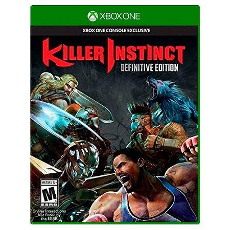 Killer Instinct Edição Definitiva (Usado) - Xbox One