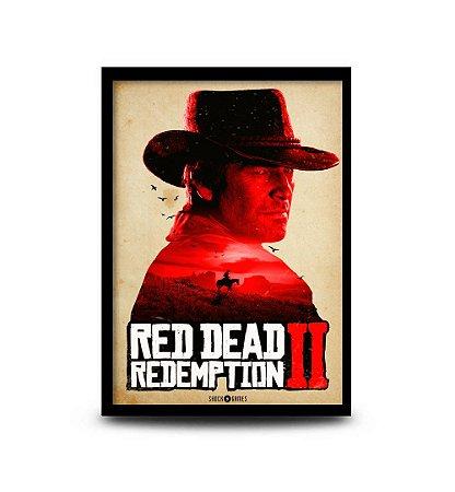 Quadro Red Dead Redemption 2 - 32,5 x 43cm