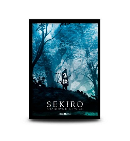 Quadro Sekiro - 32,5 x 43cm