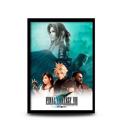 Quadro Final Fantasy VII Remake - 32,5 x 43cm
