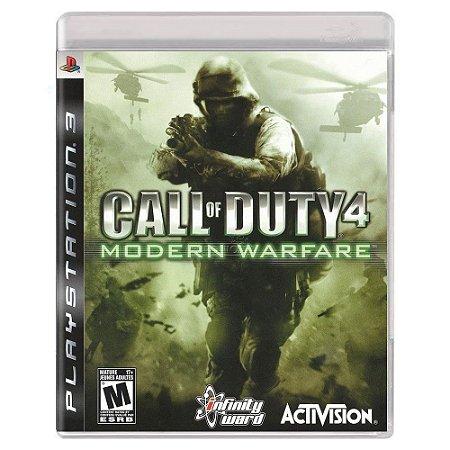 Call of Duty 4: Modern Warfare (Usado) - PS3