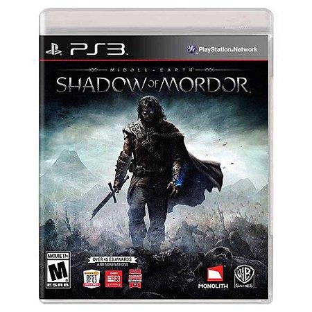 Terra Média: Sombras de Mordor (Usado) - PS3