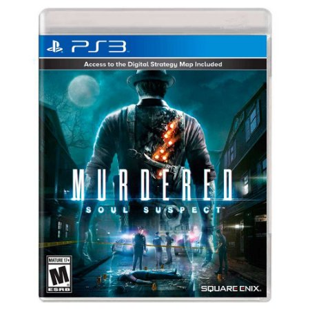 Murdered: Soul Suspect (Usado) - PS3