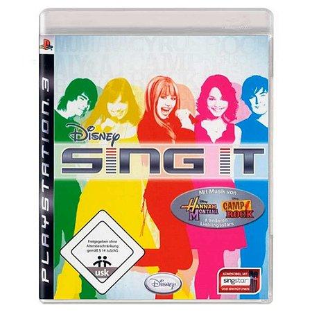 Disney Sing It (Usado) - PS3