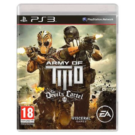 Army of Two: The Devil's Cartel (Usado) - PS3