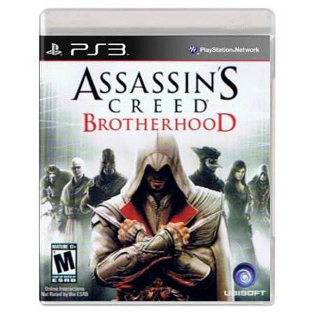 Assassin's Creed Brotherhood (Usado) - PS3