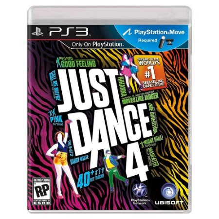 Just Dance 4 (Usado) - PS3