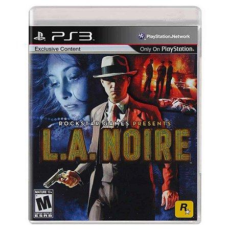 L.A. Noire (Usado) - PS3
