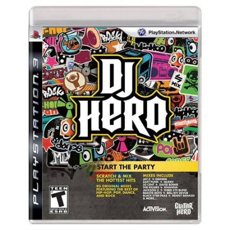 DJ Hero (Usado) - PS3