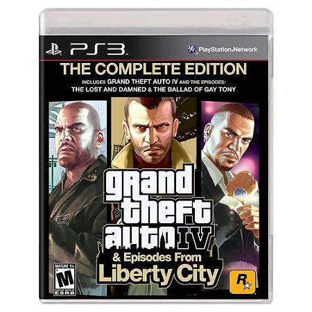 Grand Theft Auto IV: Complete Edition (Usado) - PS3