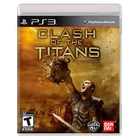 Clash of the Titans: The Videogame (Usado) - PS3