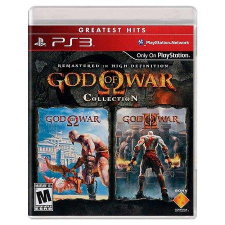 God of War Collection (Usado) - PS3
