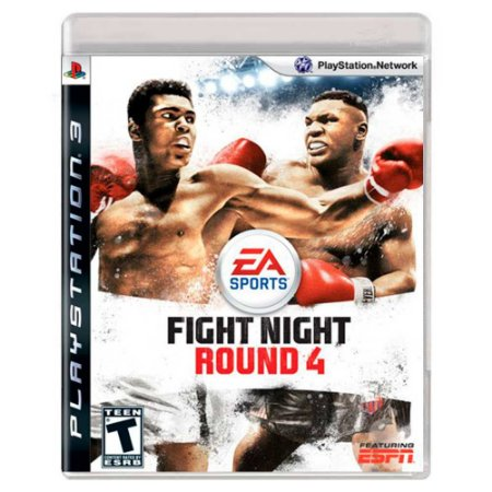 Fight Night Round 4 (Usado) - PS3
