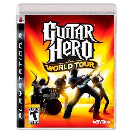 Guitar Hero: World Tour (Usado) - PS3