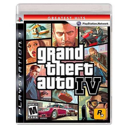 Grand Theft Auto IV (Usado) - PS3