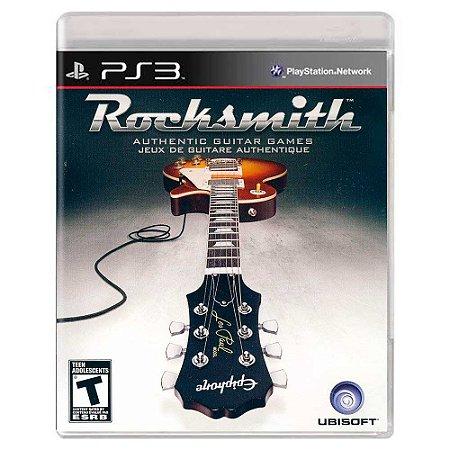 Rocksmith (Usado) - PS3