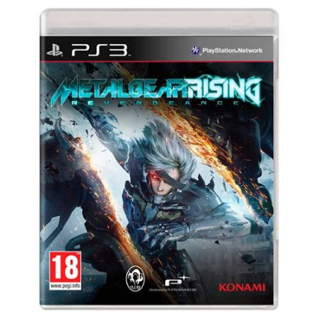 Metal Gear Rising: Revengeance (Usado) - PS3