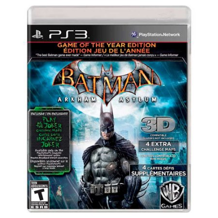 Batman: Arkham Asylum (Usado) - PS3