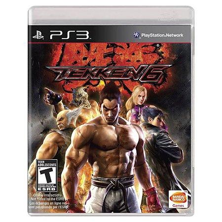 Tekken 6 (Usado) - PS3