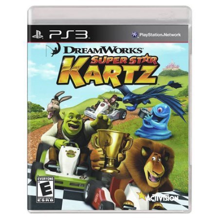 DreamWorks Super Star Kartz (Usado) - PS3