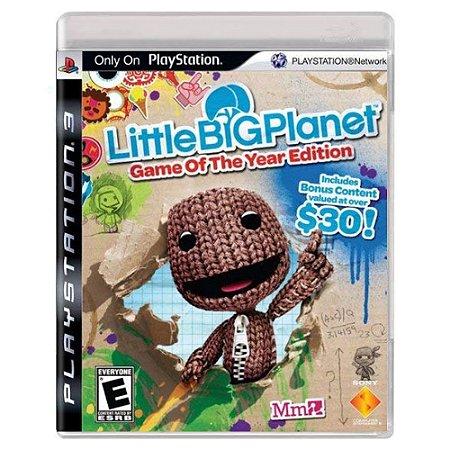 LittleBigPlanet (Usado) - PS3