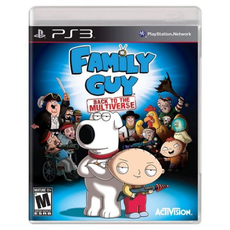 Family Guy Back To The Multiverse Game (Usado) - PS3
