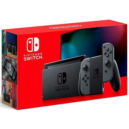 Nintendo Switch Gray 32GB - Novo Modelo (Usado)