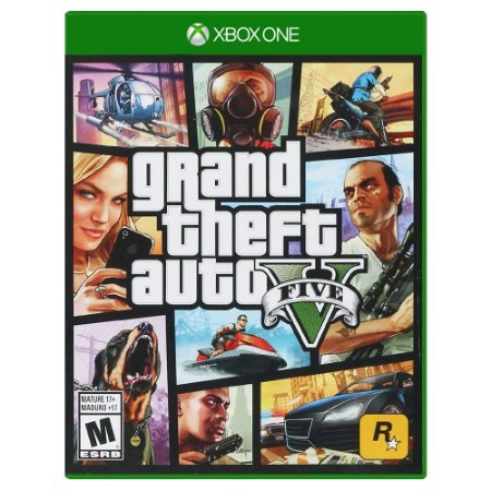 Grand Theft Auto V (Usado) - Xbox One