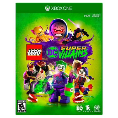 Lego DC Super-Villains (Usado) - Xbox One