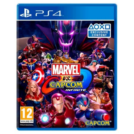 Marvel vs. Capcom: Infinite (Usado) - PS4