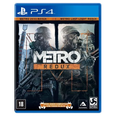Metro Redux (Usado) - PS4