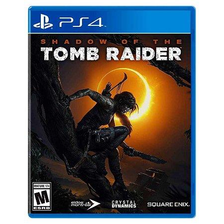 Shadow of the Tomb Raider (Usado) - PS4