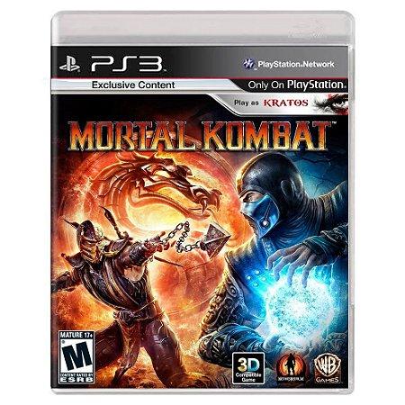 Mortal Kombat (Usado) - PS3