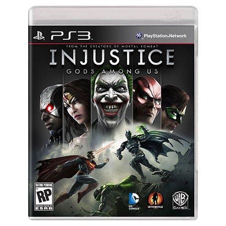 Injustice: Gods Among Us (Usado) - PS3