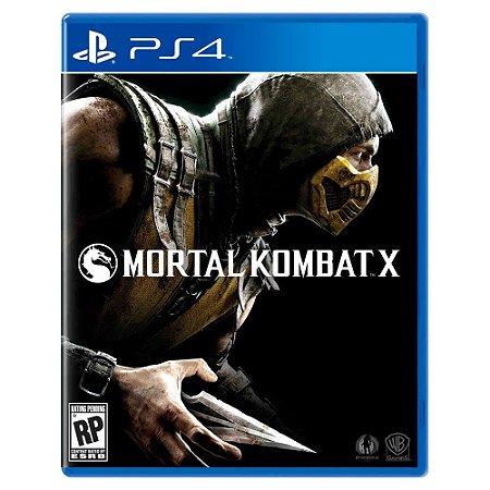 Mortal Kombat X (Usado) - PS4