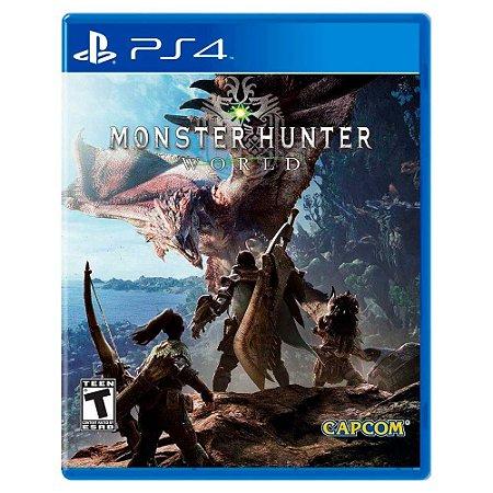 Monster Hunter World (Usado) - PS4