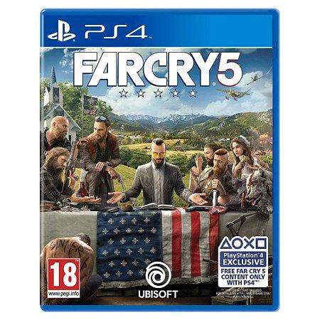 Far Cry 5 (Usado) - PS4