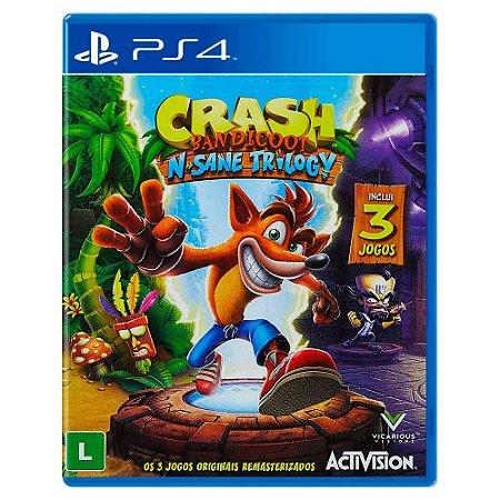 Crash Bandicoot N. Sane Trilogy (Usado) - PS4