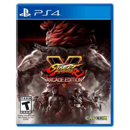 Street Fighter V: Arcade Edition (Usado) - PS4
