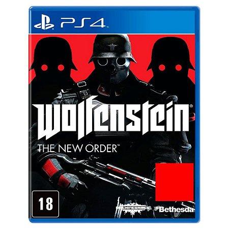 Wolfenstein: The New Order (Usado) - PS4