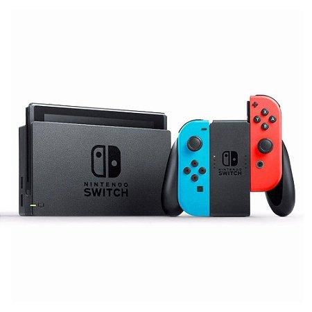 Nintendo Switch Neon Blue / Neon Red 32GB (Usado)
