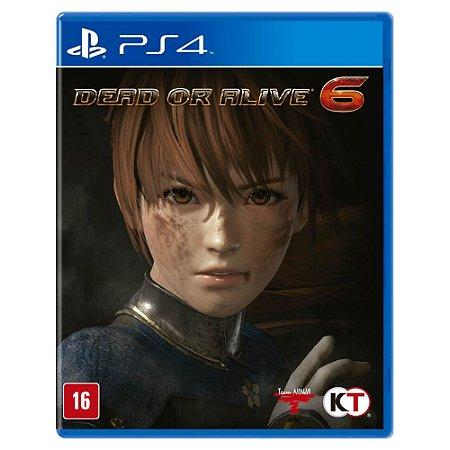 Dead or Alive 6 (Usado) - PS4