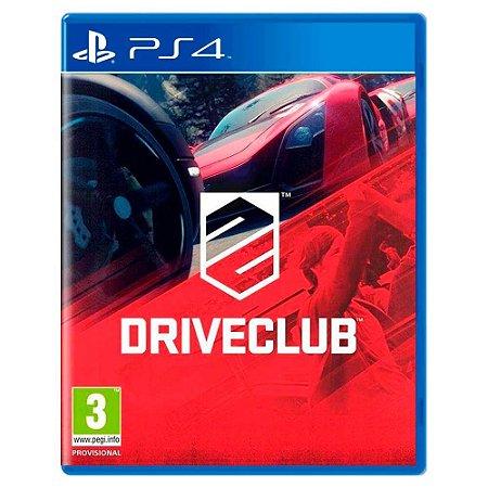 Driveclub (Usado) - PS4