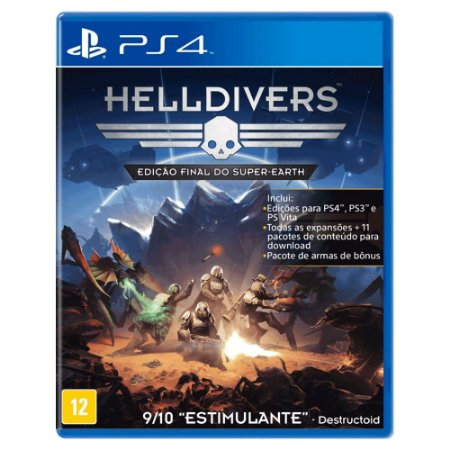 Helldivers: Edição Final do Super-Earth (Usado) - PS4