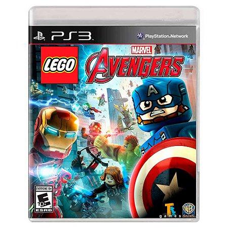Lego Marvel Vingadores (Usado) - PS3